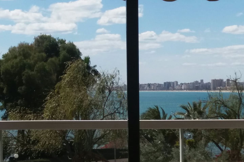 Apartamento con preciosas vistas al mar