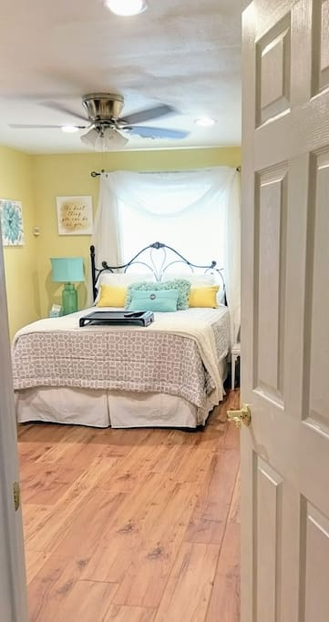 Bedroom doorway