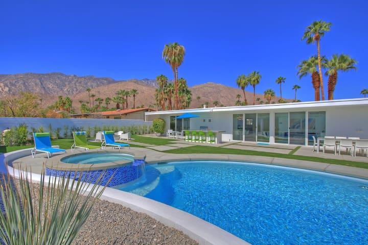 Limoncello Mid-Century Modern Escape - Palm Springs - Huis