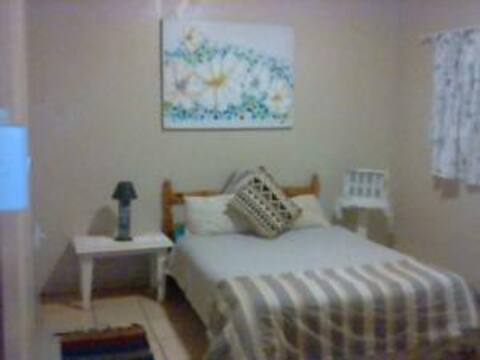 Private double room with  bathroom/shower.
