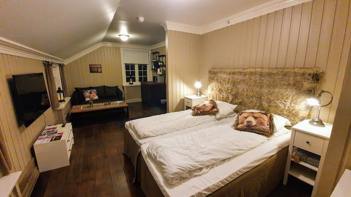 Koselig suite med Badekar