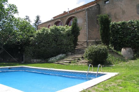 Historic house private swimming pool & bbq, BCN - Castellfollit de Riubregós