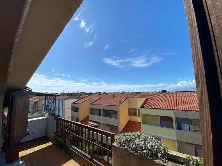 Grazioso appartamento mansardato a Viareggio
