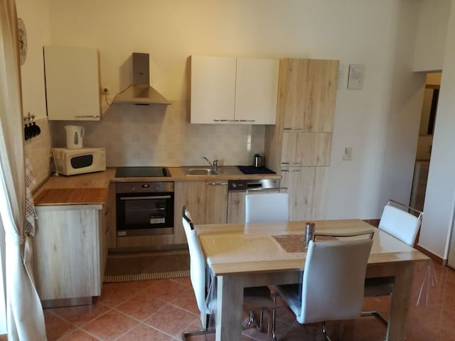One bedroom Apartment, 200m from city center, in Porec, Balcony, Terrace