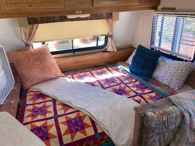 "Cozy, clean and quiet ""Glamping""!"