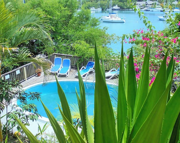 Mango Beach Inn in Marigot Bay - Marigot Bay - Bed & Breakfast