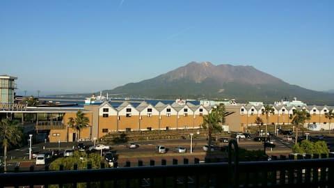 Fantastic view 3min to Yakushima toppy port(5F-B)