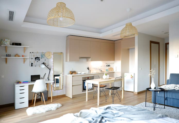 ♥Stylish studio in Europe's largest living complex