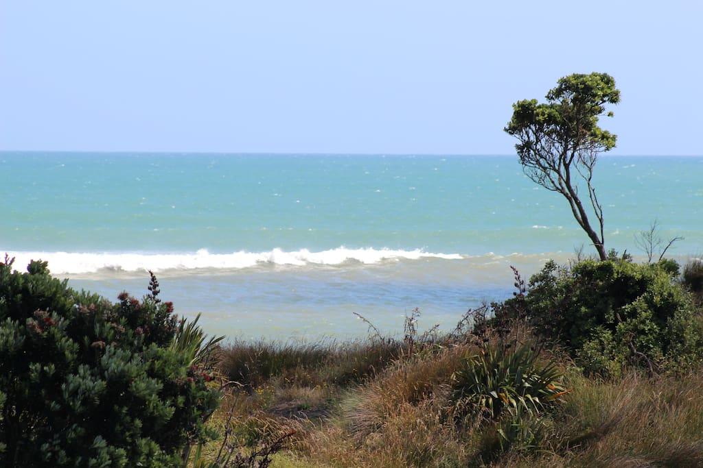 Welcome to Waitara West Beach.
