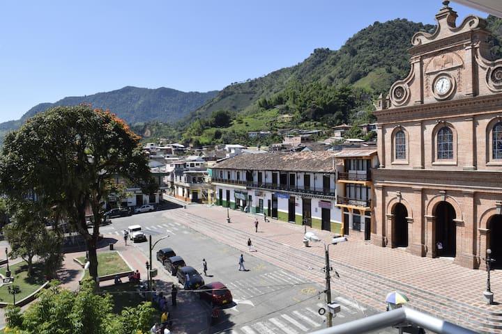 La mejor vista de Riosucio, Caldas