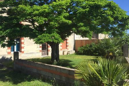 Studio zen avec jardin 50 m2 au cœur des vignes