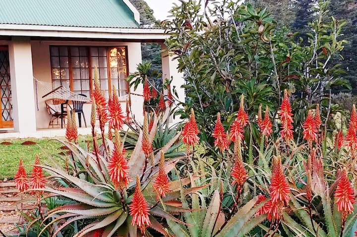 Wild Hare Cottages - Aloe (self-catering).