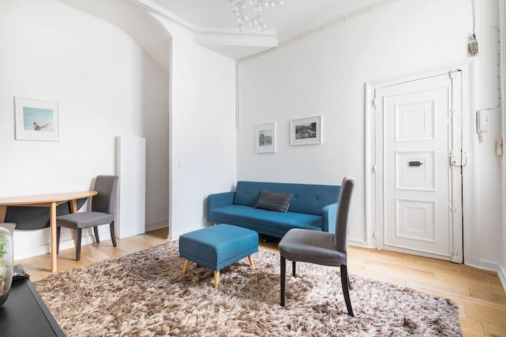 Appartement trois pièces cosy et confortable