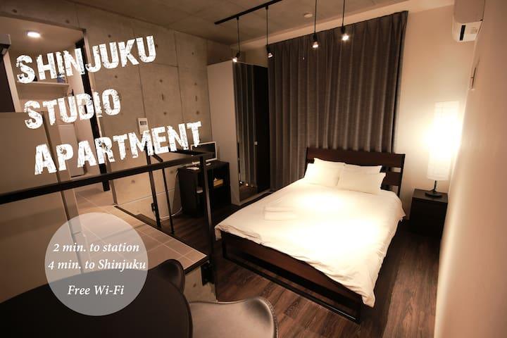 12A new house in Shinjuku Free Wifi  3 min to sta.