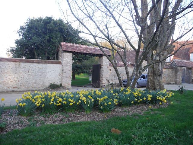 Chambre Magnolia - Hargeville - 別荘