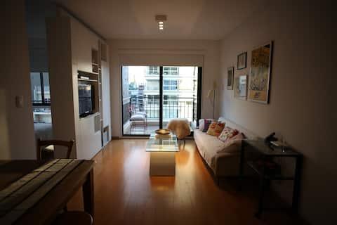 Beautiful apt in Palermo, 2 blocks from subway