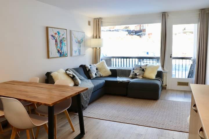 Appartement chaleureux au coeur du village