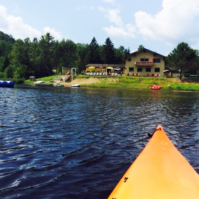 Lucerne sur le lac en ete