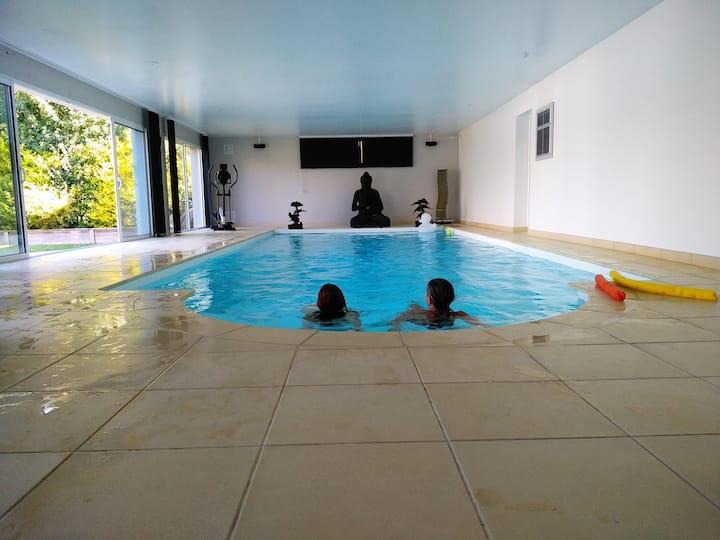 Casa Alégria  location 5*  piscine chauffée 30°.