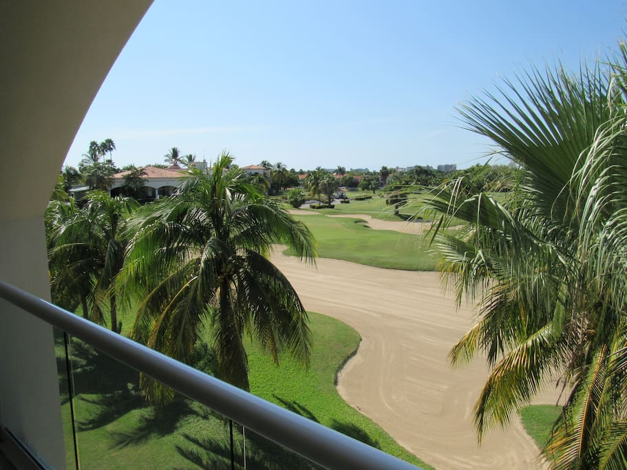 View to the 18th Hole of the Tiger Golf Course
