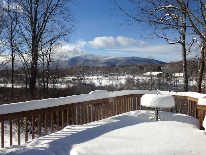 Vermont View on the Battenkill River