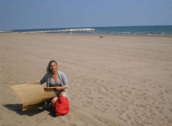 Venice at the sandy beach