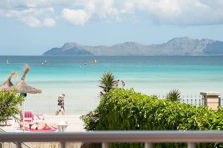 VIB: Aptm. mit direktem Meerblick und Strandzugang - アルクディア