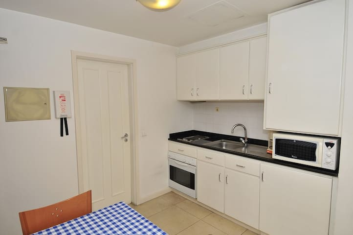 Studio Apartment - Kitchenette Area