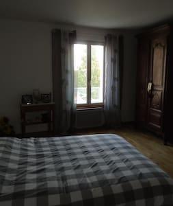 chambre tout confort entre Loire et Loir - La Chapelle-Vendômoise - Wohnung
