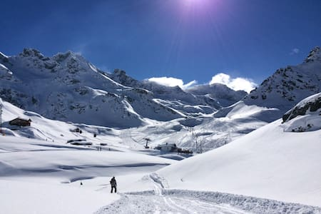 Gressoney in the heart of the Alps! - Gressoney-La-Trinité - Huoneisto