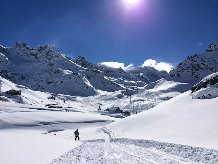 Gressoney in the heart of the Alps!