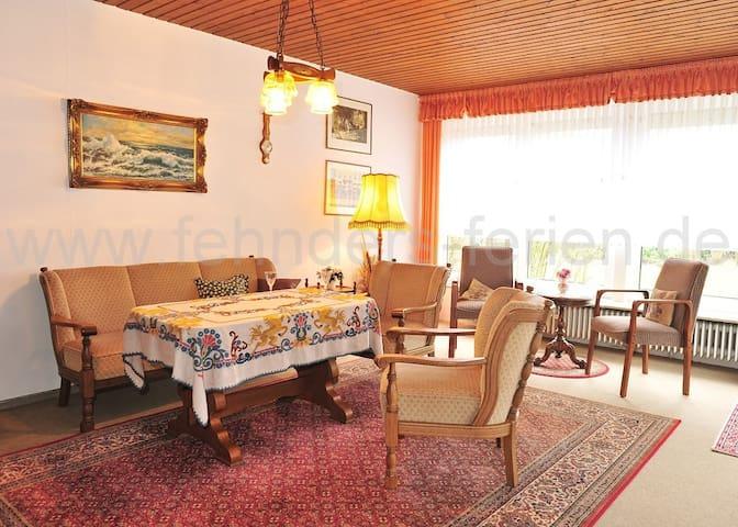 Uriges Ostfriesenhaus - Berumbur - House