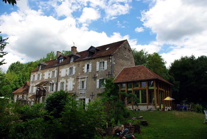 Le Moulin du Bas-Pesé - Mont-près-Chambord - Appartement