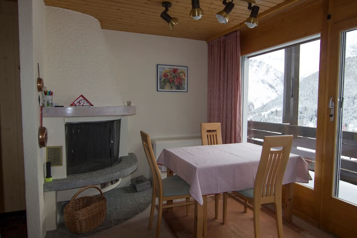 Apartment Anis with beautiful view - Saas-Fee - Apartment