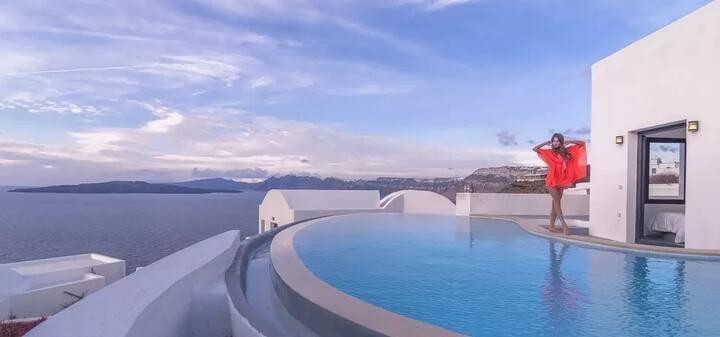 3 Bedrooms Villa | Private Pool & Caldera View