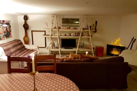 lovely flat in a family house(90m2) - Chêne-Bourg