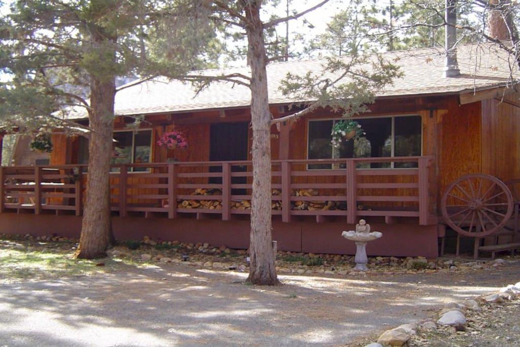 Best value in big bear quiet cozy pet friendly cottages for Big bear pet friendly cabins