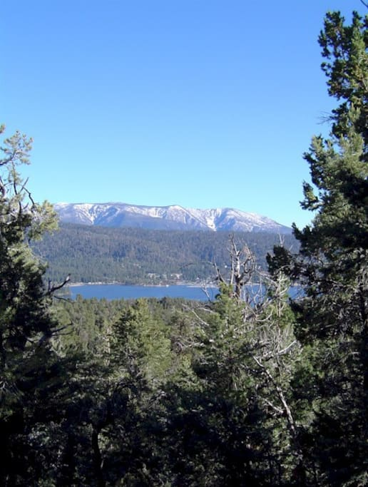 Enjoy hiking, biking, boating and much more...! (Pix of Big Bear Lake is not view from house)