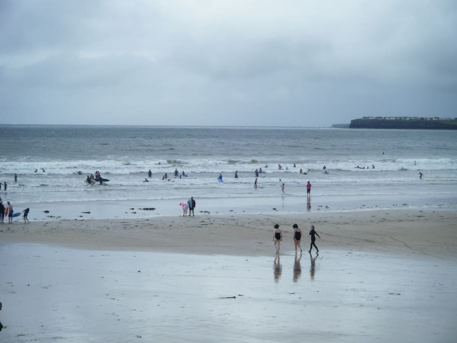 Nearby Lahinch is the surf capital of County Clare