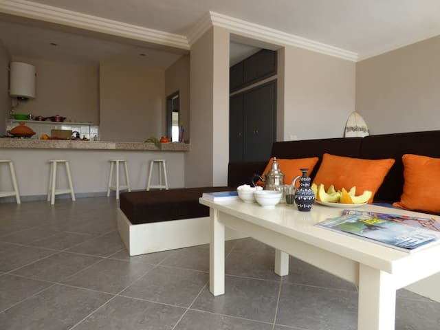 "Kite & Surf House le ""LOO"", 2-3pers - Dakhla - Appartement"