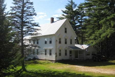 Peaceful, Mountain View Home! - Fryeburg