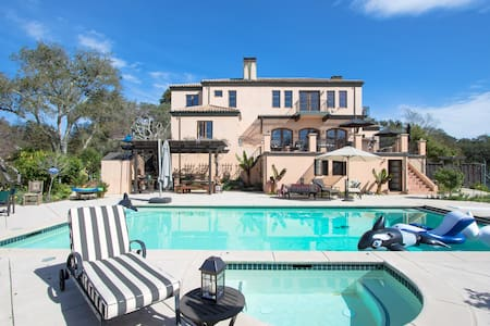 Poolside Retreat Aptos Hills - 別墅