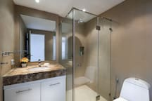 Private Shower room and toilet in bedroom