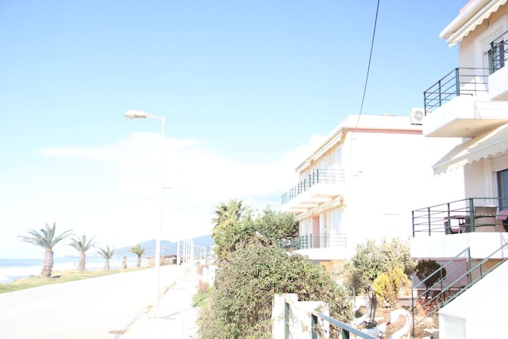 Holiday house in front of the sea - Paralia Kanali - Rumah