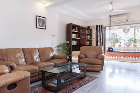 Quiet home in Ballygunge, fast WiFi - Kalkuta