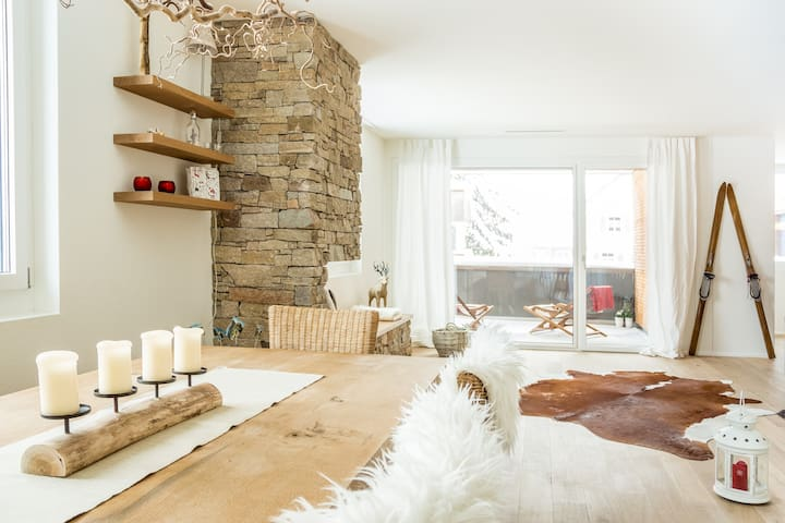 Alpine Chic Apartment, 3 bedrooms - Andermatt - Lägenhet