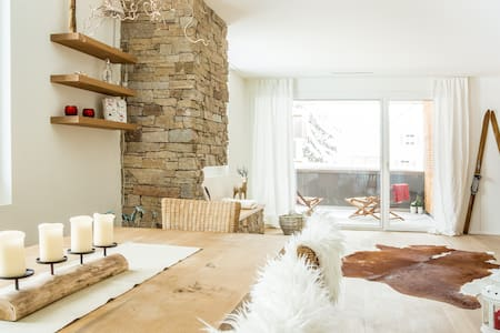 Alpine Chic Apartment, 3 bedrooms - Andermatt