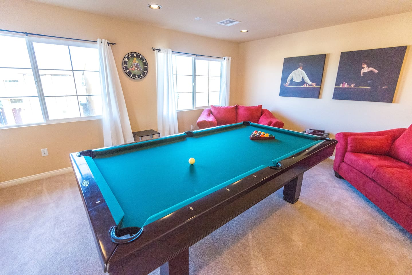 Luxurious Beautiful Story Villa Near Strip Houses For Rent In - Pool table rental las vegas