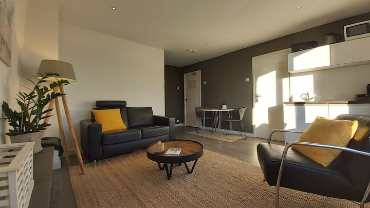 Luxe Appartement, Centrum Zandvoort 2 min from Sea