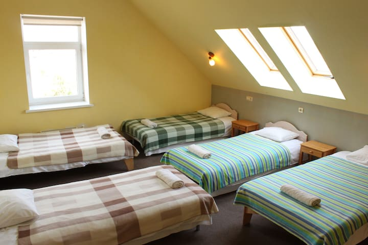 "Quintuple room in Guest House ""IDE"" - Babīte - Villa"